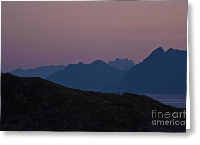 Evening Mood  Greeting Card by Heiko Koehrer-Wagner