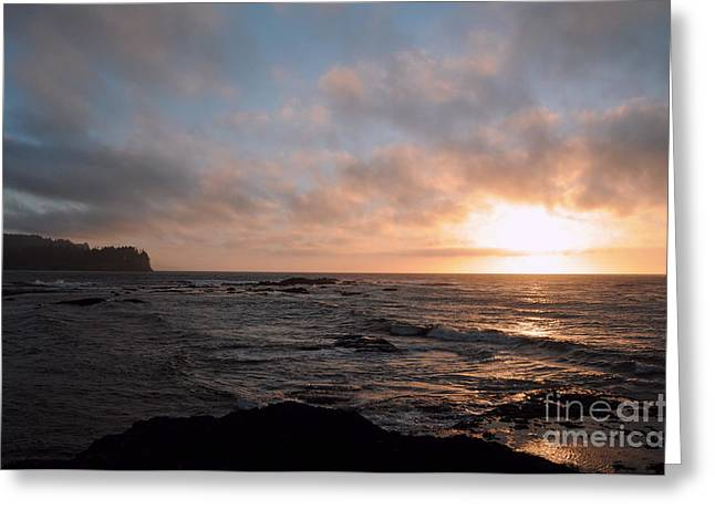 Evening On The Straits Greeting Card