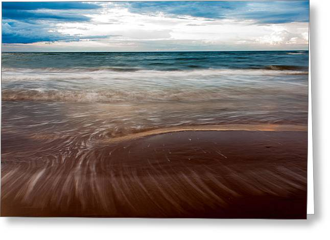 Evening Tide Greeting Card by Matt Dobson
