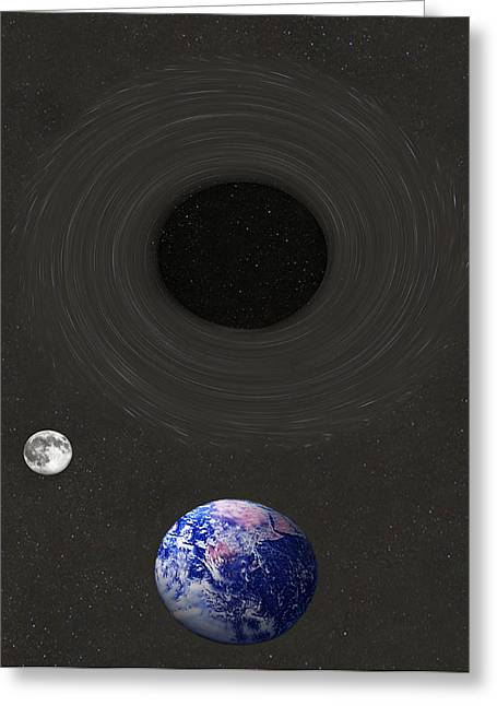 Event Horizon Greeting Card