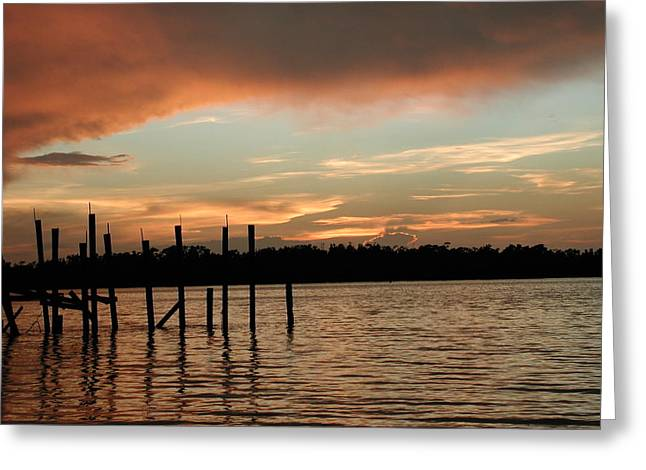 Everglades Sunset Greeting Card