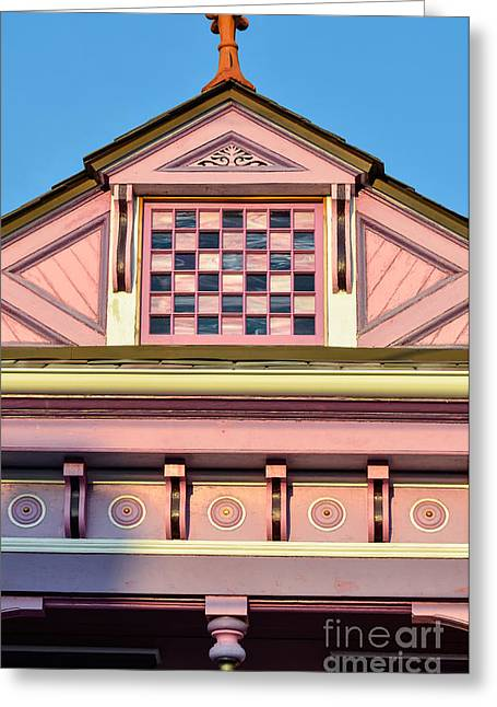 Everything Pink Greeting Card by Jeanne  Woods