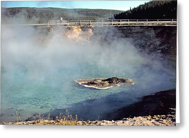 Excelsior Geyser Crater Greeting Card by Rod Jones