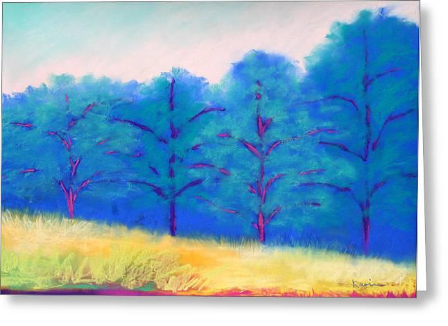 Exciting Landscape Greeting Card by Karin Eisermann