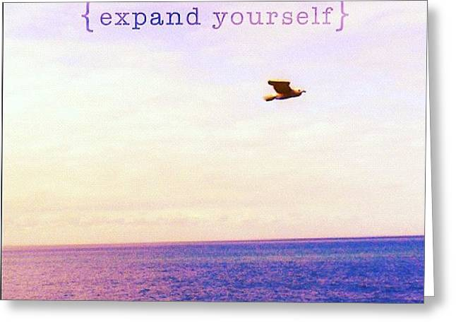Expand Yourself. By Fernanda Fontenelle Greeting Card