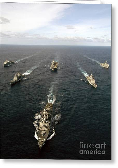 Expeditionary Strike Group Two Greeting Card