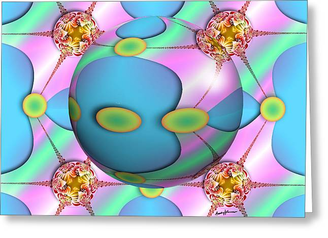 Eye Candy Greeting Card by Anthony Caruso