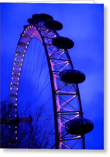 Eye Of London Greeting Card