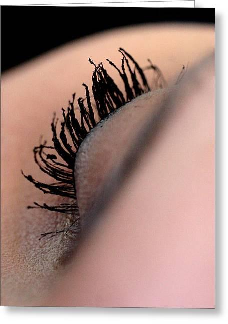 Eyelashes Greeting Card by JL Creative  Captures