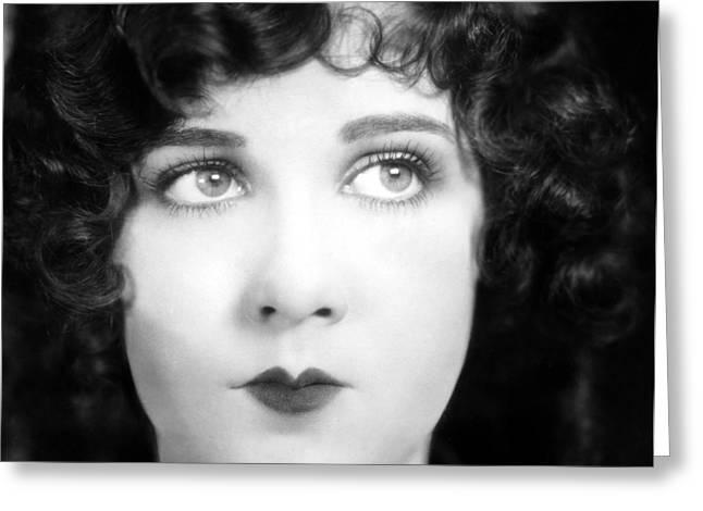 Eyes: Mary Brian Greeting Card