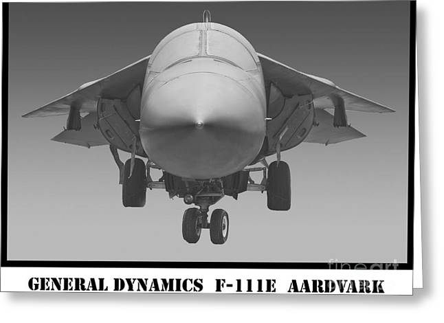 F-111e Aardvark Greeting Card