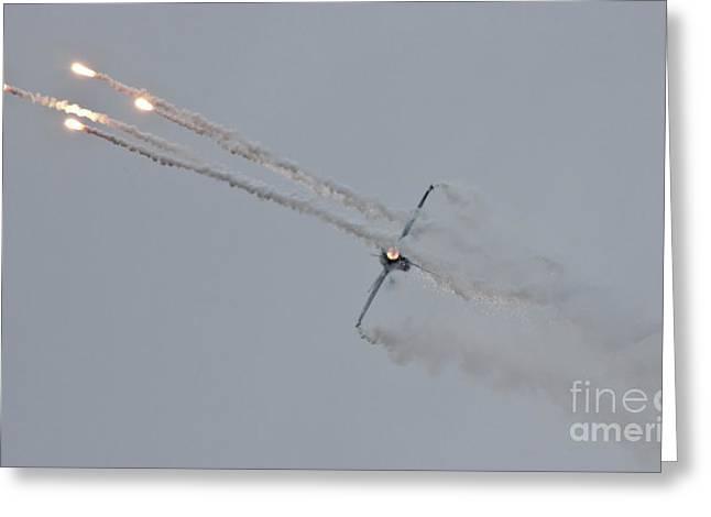 F-16 Vortex II Greeting Card by Lee Sure