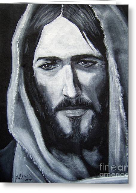 Face Of Christ - One Greeting Card