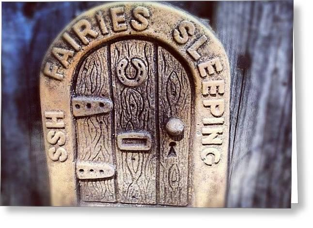 Fairies Sleeping Greeting Card