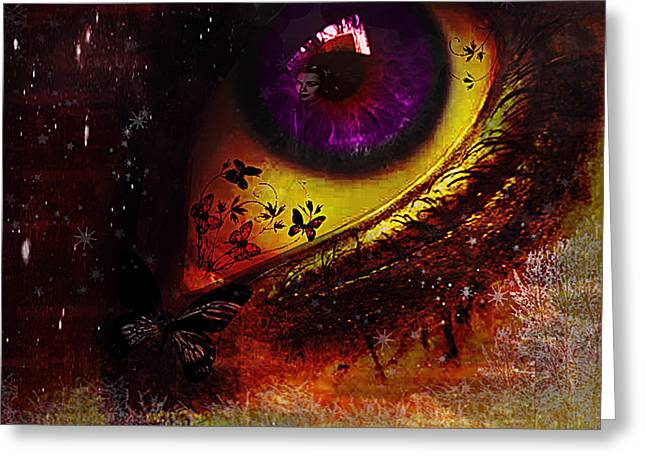 Fairy Eye Greeting Card