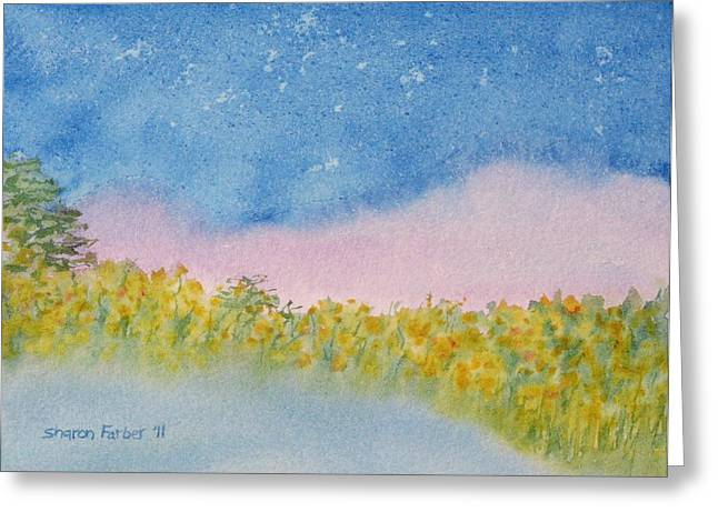 Fairy Mist Greeting Card by Sharon Farber