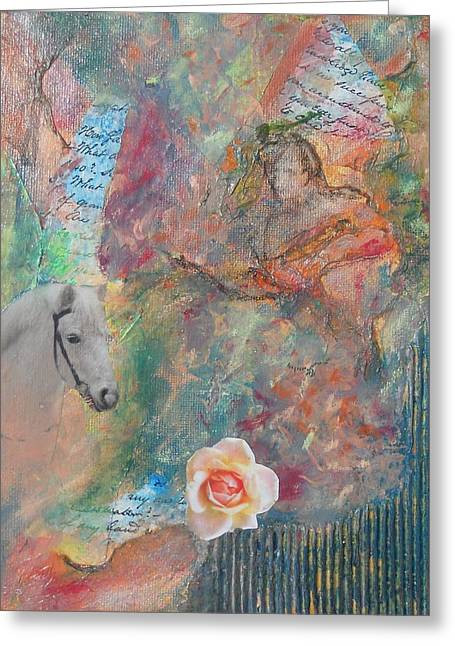 Fairy Tales Greeting Card by Terry Cullen