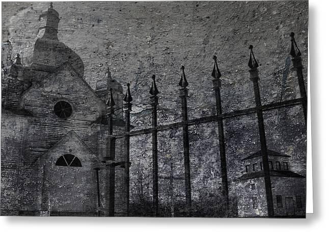 Faith Of Stone  Greeting Card by Jerry Cordeiro