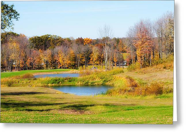 Fall At The Ponds Greeting Card