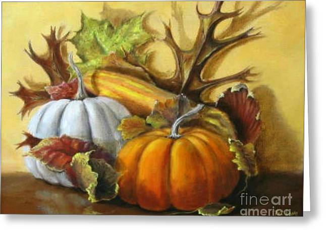 Fall Gatherings Greeting Card