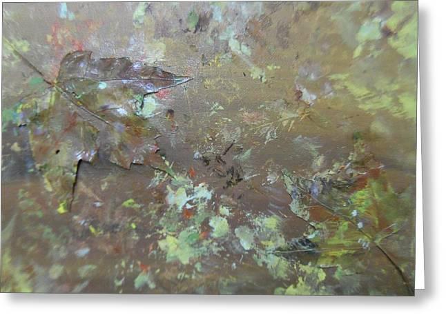 Fall Impressions Greeting Card by Heather Burbridge