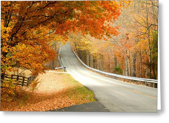 Greeting Card featuring the photograph Fall In Kentucky by Sylvia Hart