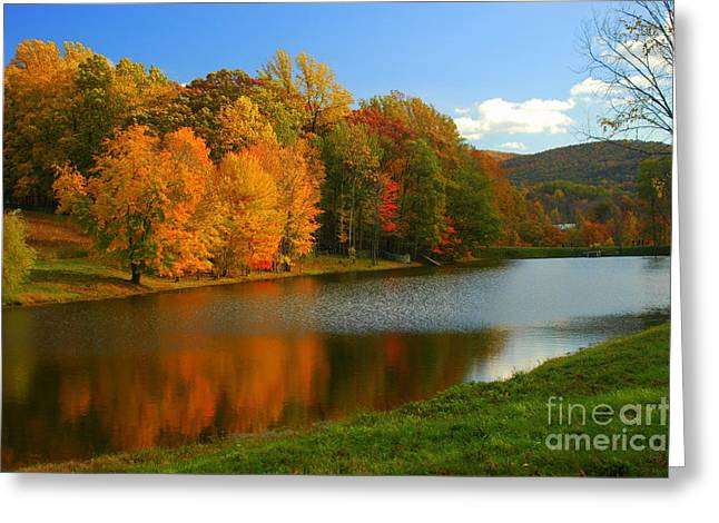 Fall In New York State Greeting Card