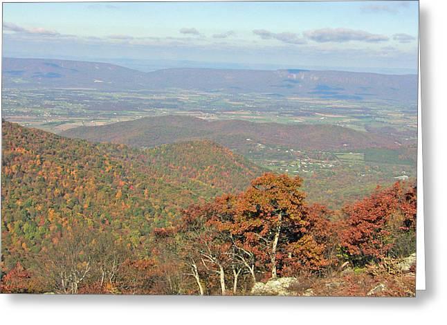 Greeting Card featuring the photograph Fall In Shenandoah by Shirin Shahram Badie