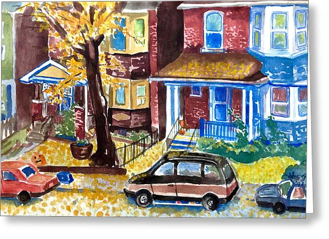 Fall In Toronto Greeting Card by Mike N