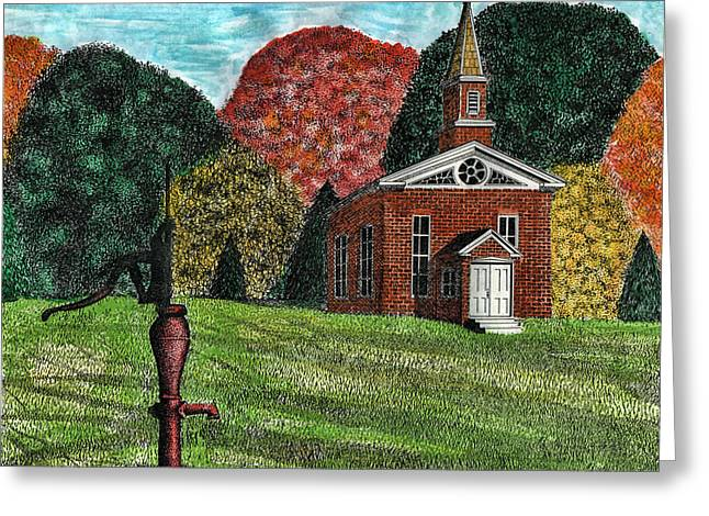 Fall Is Coming Greeting Card by Mike OBrien