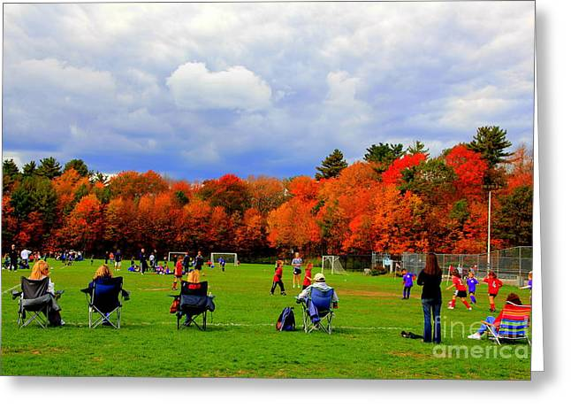 Fall  Sports Greeting Card