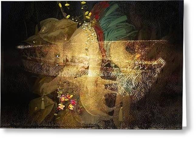Fallen Angels Greeting Card by Velitchka Sander