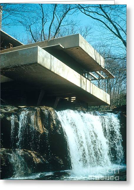 Fallingwater Greeting Card by Photo Researchers, Inc.