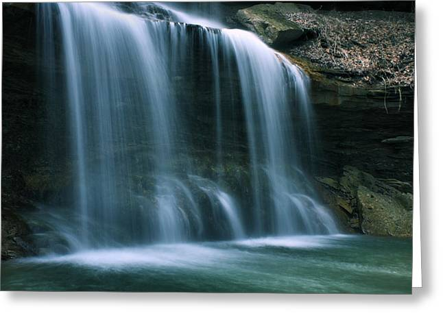 Falls Bottom Greeting Card
