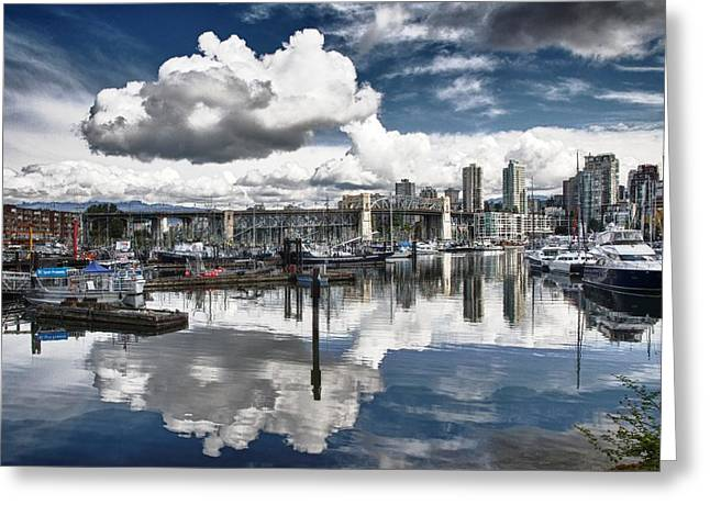 False Creek Vancouver Greeting Card by Scott Holmes
