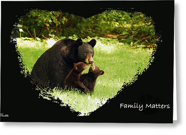 Family Matters Greeting Card