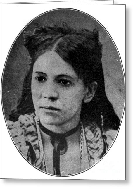 Fanny Jackson Coppin, African-american Greeting Card by Photo Researchers