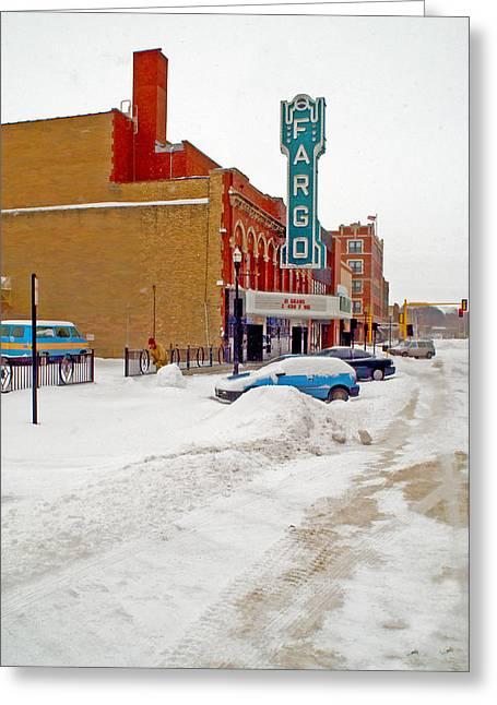 Fargo-2 Greeting Card