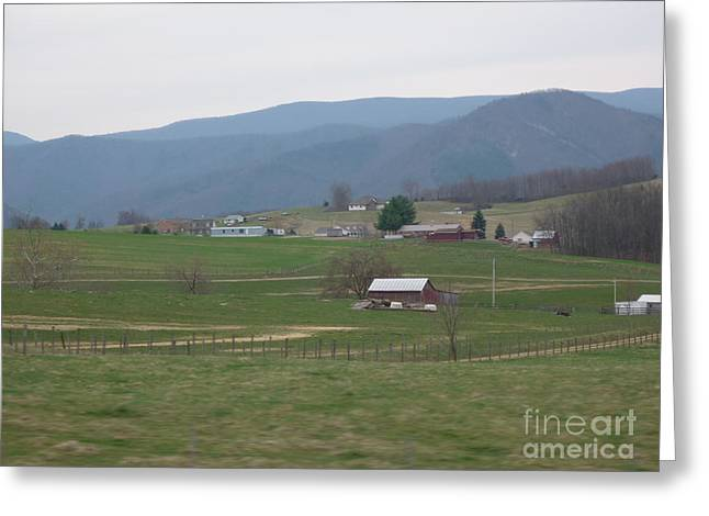 Farm 2 Greeting Card by Artie Wallace