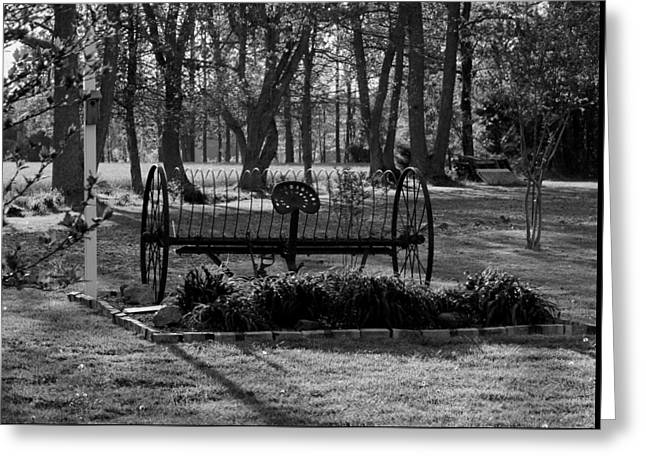 Greeting Card featuring the photograph Farm Antique by Karen Harrison