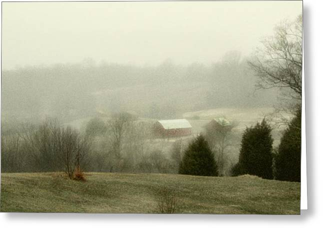 Farm Lands Greeting Card