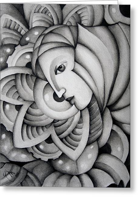 Fata Morgana Greeting Card by Simona  Mereu