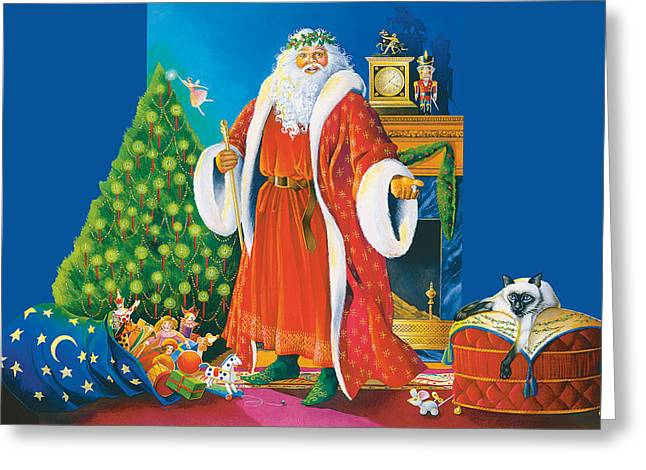 Father Christmas Greeting Card
