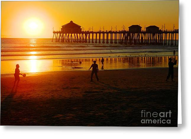 Greeting Card featuring the photograph Feels Like Summer by Everette McMahan jr