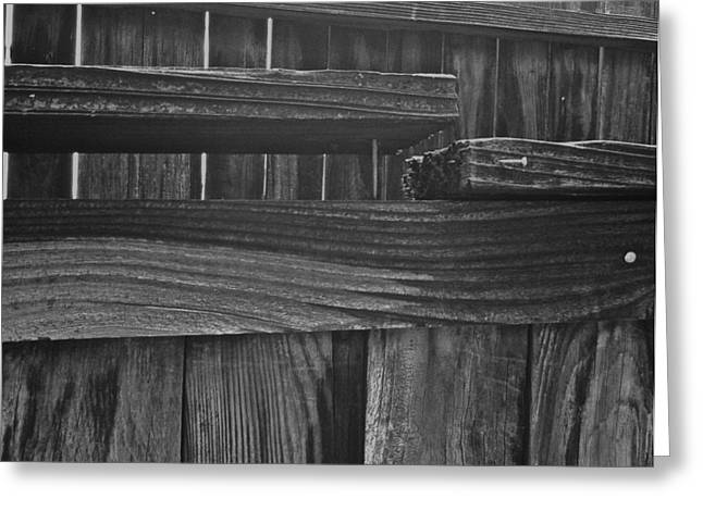 Fence To Nowhere Greeting Card by Bill Owen