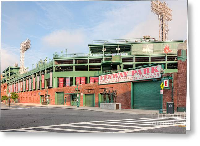 Fenway Park I Greeting Card by Clarence Holmes