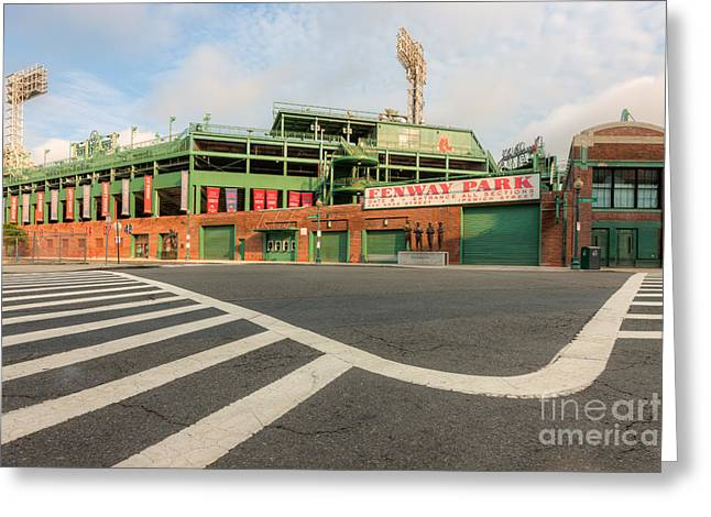 Fenway Park II Greeting Card by Clarence Holmes