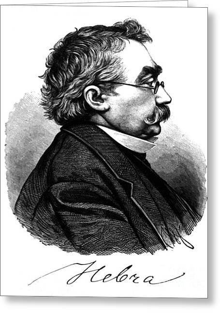 Ferdinand Ritter Von Hebra, German Greeting Card