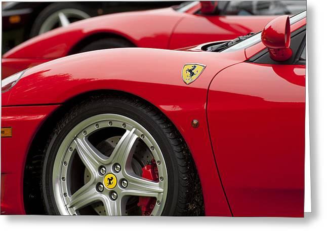 Ferraris 5 Greeting Card by Jill Reger