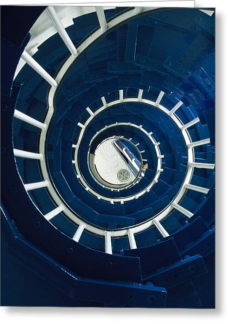 Ferris Point Lighthouse, Larne, County Greeting Card